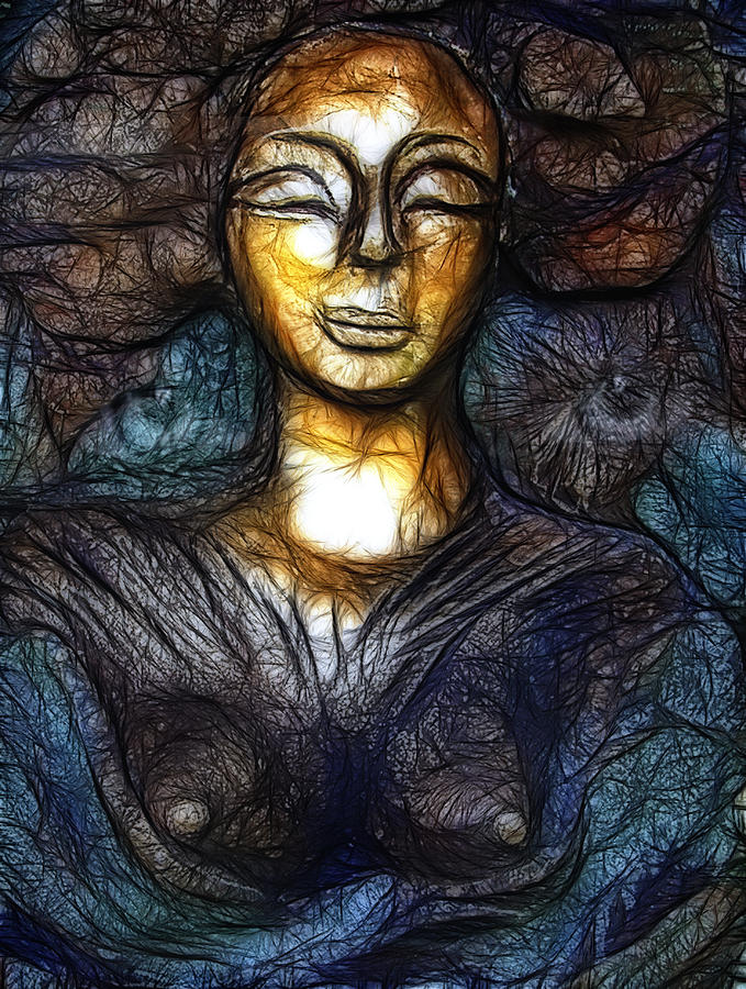 Woman Mixed Media - Passion by Joachim G Pinkawa