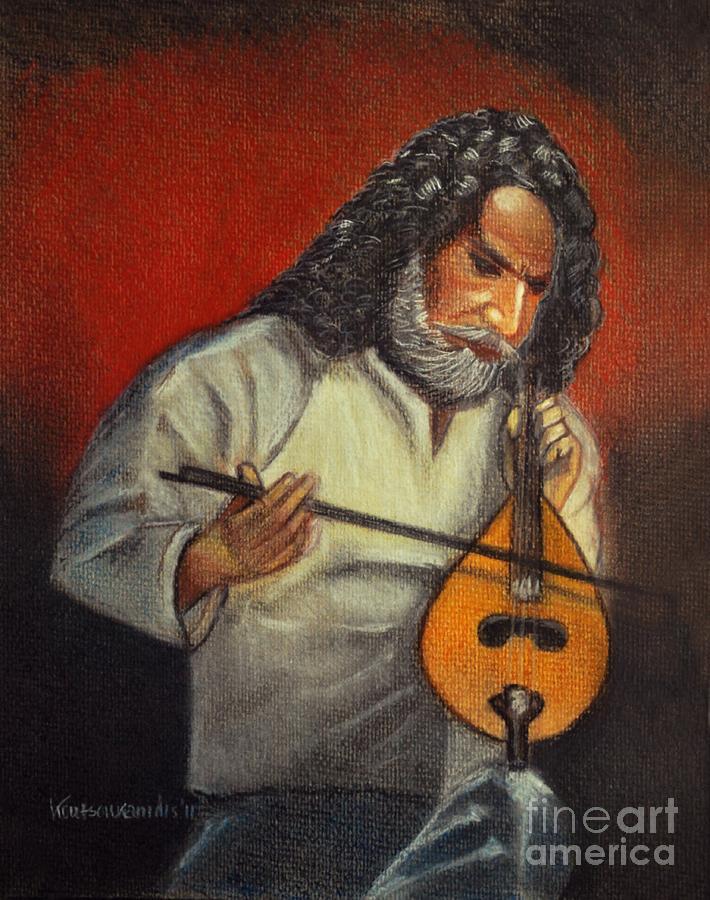 Pastel Painting - Passion by Kostas Koutsoukanidis