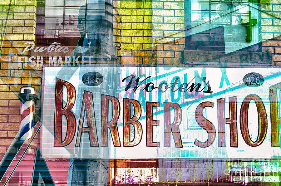 Passion Nyc Harlem Barber Shop Photograph