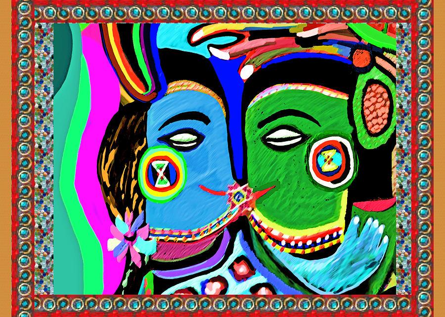 Passionate kiss kamasutra khajuraho india cave style art - Kamasutra mobel ...