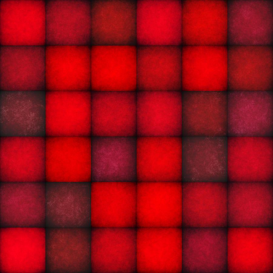 Passionate Reds Decor Digital Art
