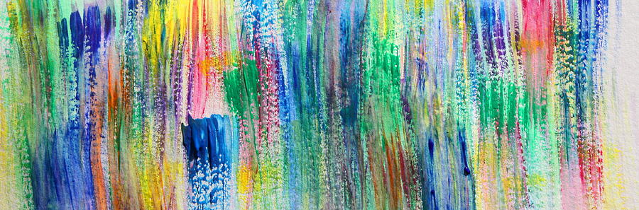 Abstract Painting - Passions Thicket by Tom Atkins