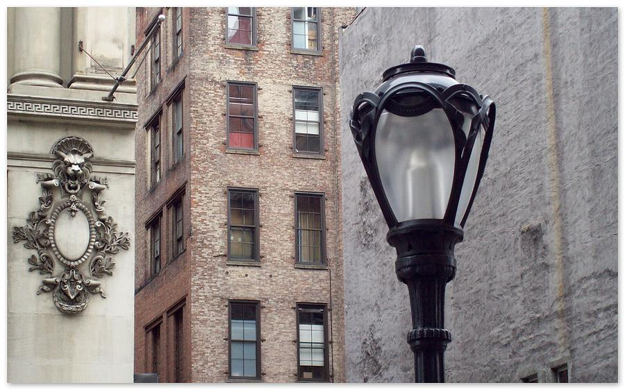 New York Photograph - Past Facing Future by Jhoy E Meade