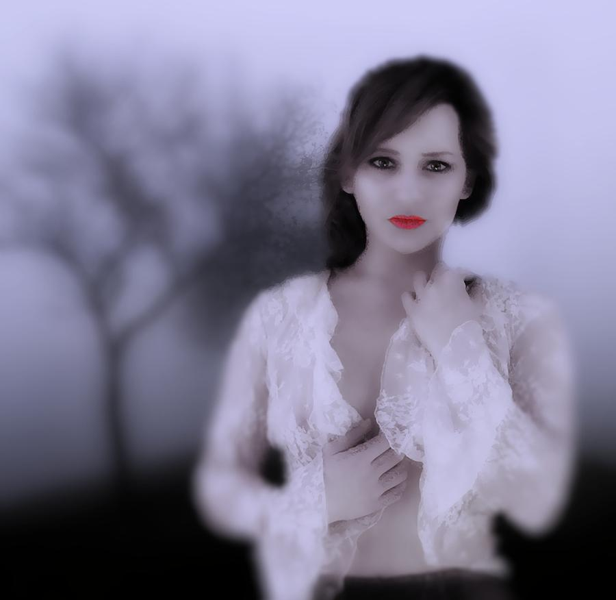 Portrait Photograph - Past Twilight Bad Girl by Richard Hemingway