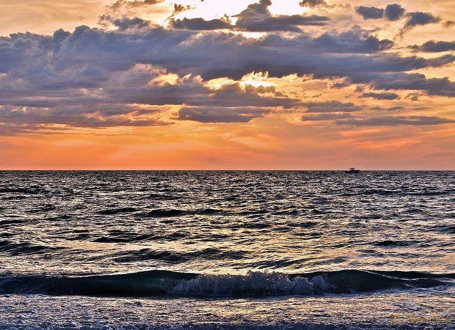 Pastel Sunset 1 Photograph by Lisa Merman Bender