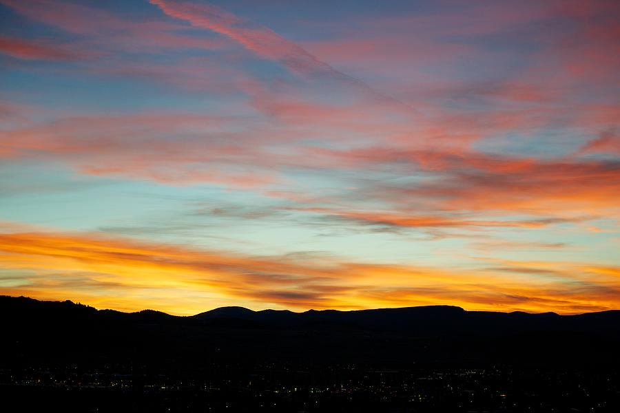 Sunset Photograph - Pastell Night  by Kevin Bone
