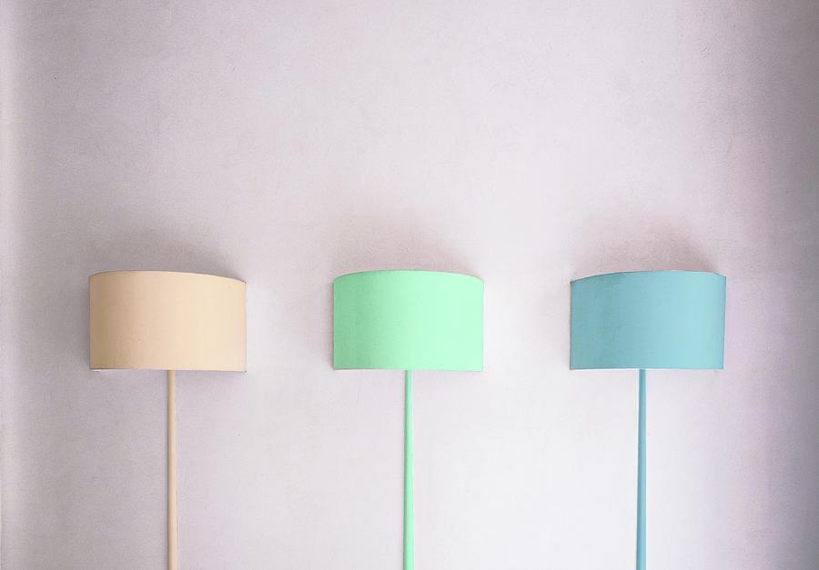 Pastel Photograph - Pastels. by Harry Verschelden