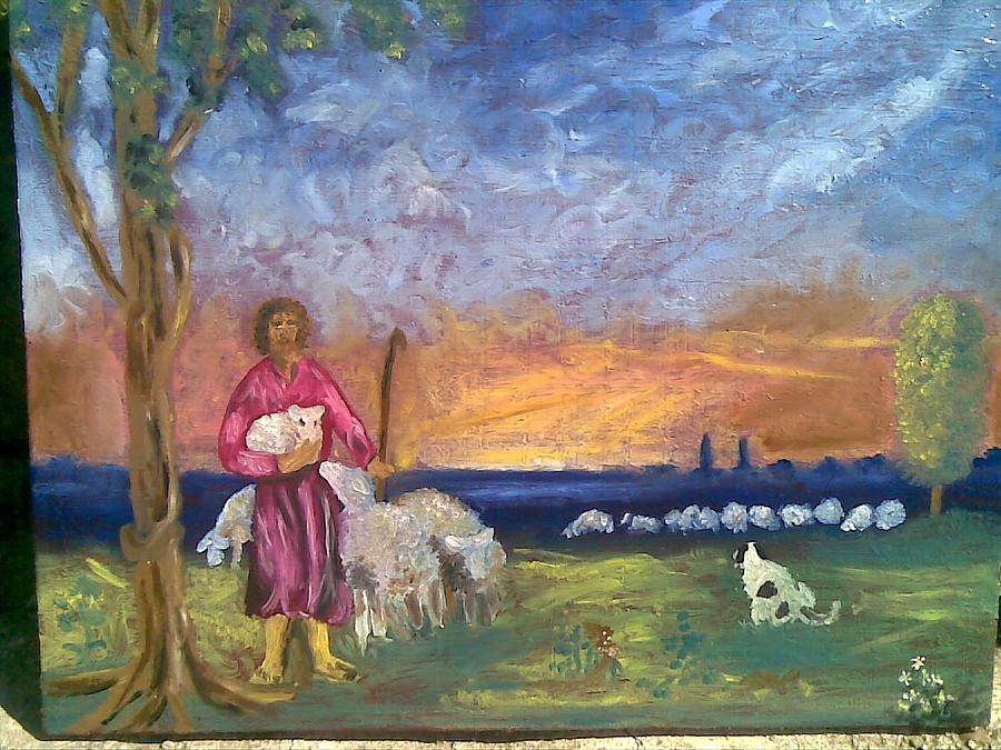 Pastir Painting by Lazar Caran