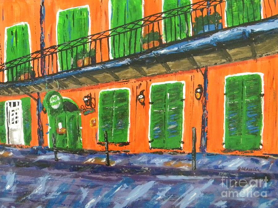 Pat Obriens Painting - Pat Obriens by JoAnn Wheeler