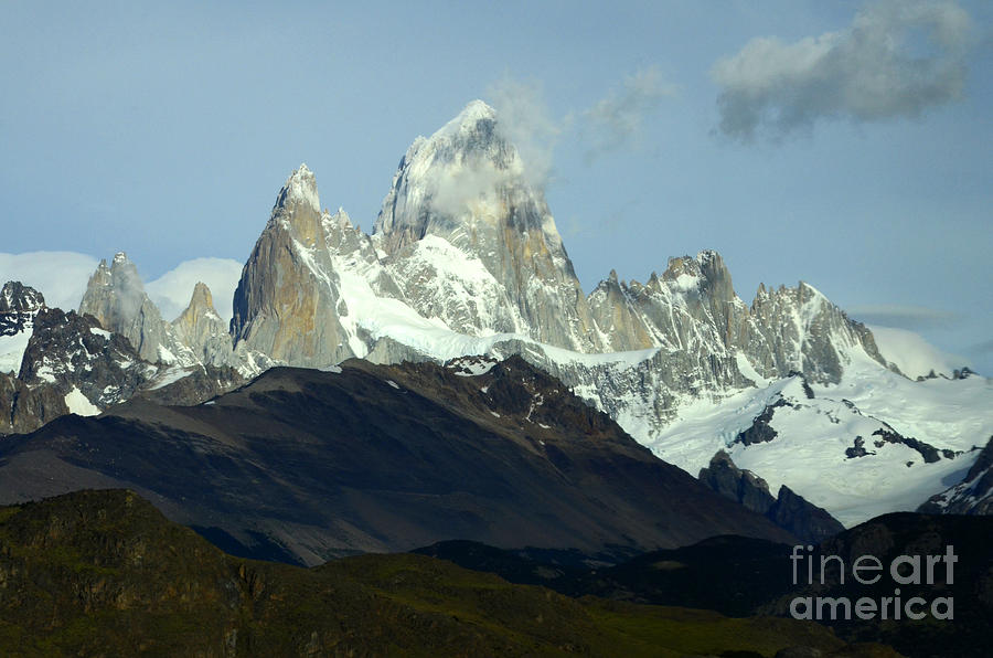 Patagonia Photograph - Patagonia Mount Fitz Roy 1 by Bob Christopher