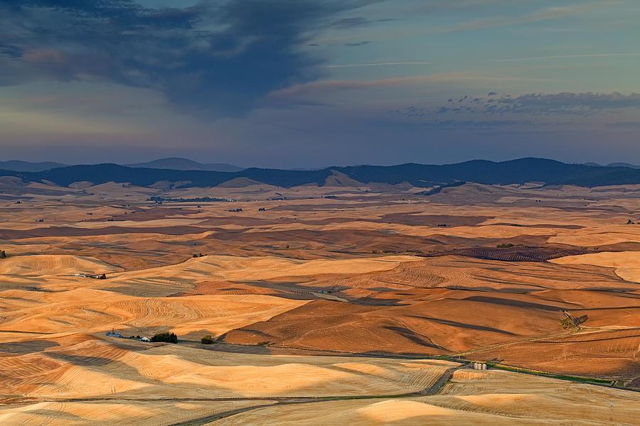 Landscape Photograph - Patched Palouse by Ray Still