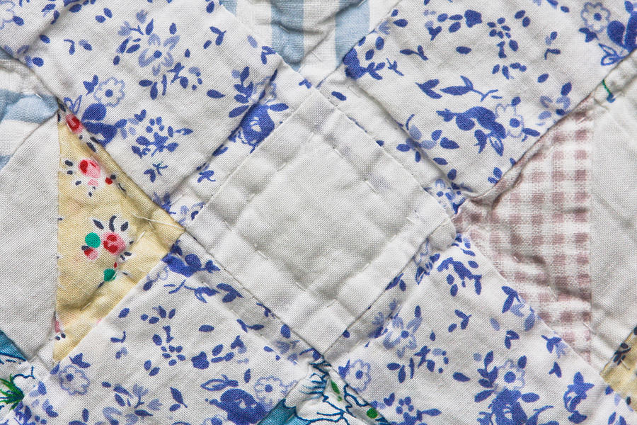 Background Photograph - Patchwork Quilt by Tom Gowanlock