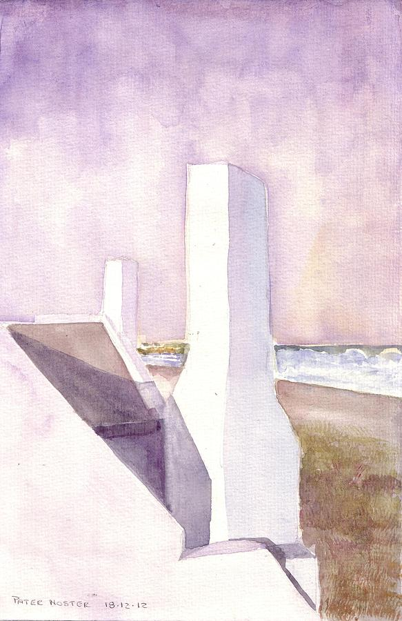 Pater Noster Painting by David  Hawkins