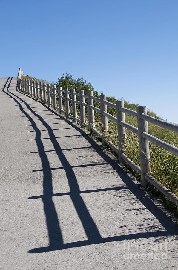 Way Photograph - Path by Bernard Jaubert
