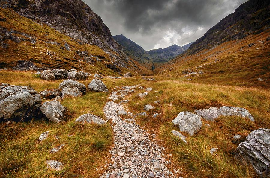 Path In Mountains Photograph by Garry Solomon / Eyeem