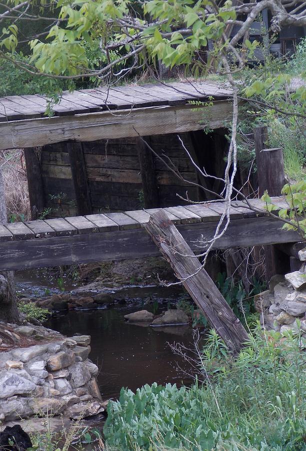 Wooden Bridge Photograph - Path Less Taken by John Glass
