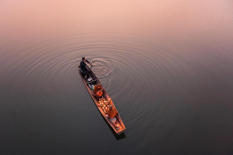 Thai Photograph - Path Of Light by Nun Rungrojanarak