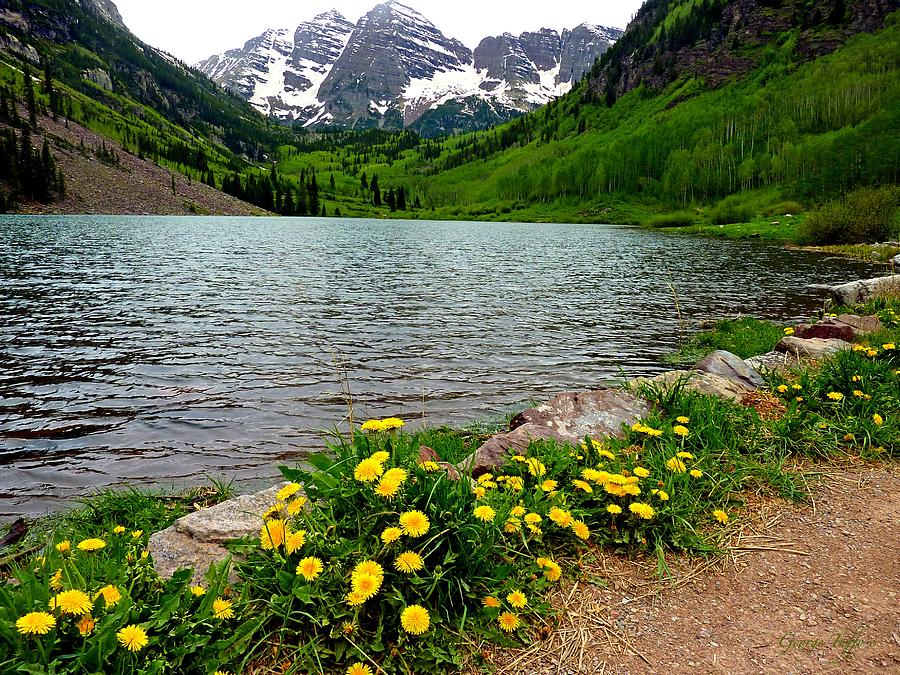 Path To Maroon Bells Colorado