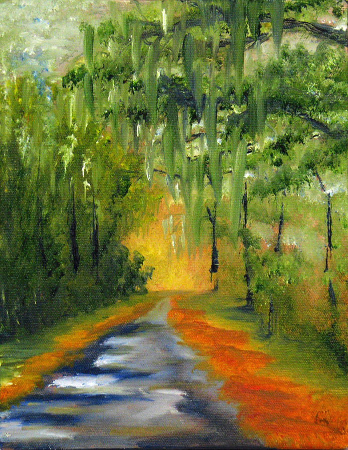 Artalasherry Painting - Path To The Beach by Sherry Robinson