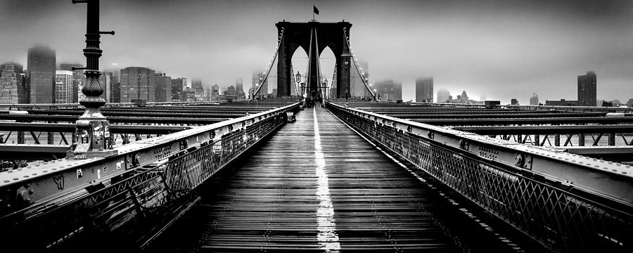 Brooklyn Photograph - Path To The Big Apple by Az Jackson