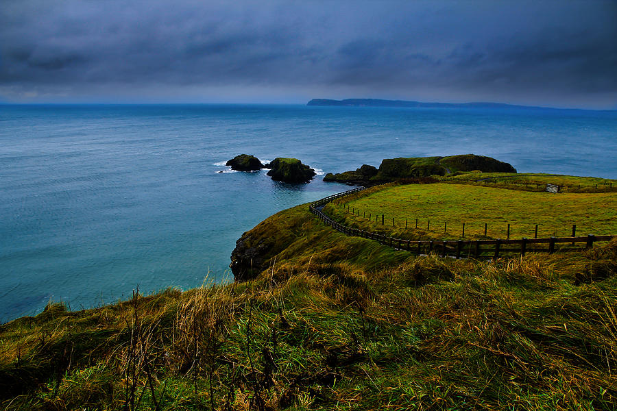 Ireland Photograph - Path To The Bridge by Justin Albrecht