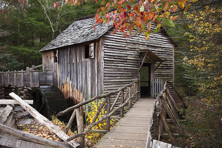 Mill Photograph - Path To The Mill by Andrew Soundarajan