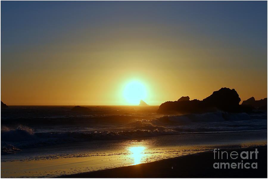 Sunset Photograph - Path To The Sun by Irina Hays