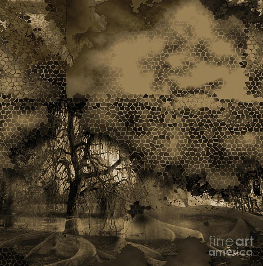 Path Mixed Media by Yanni Theodorou