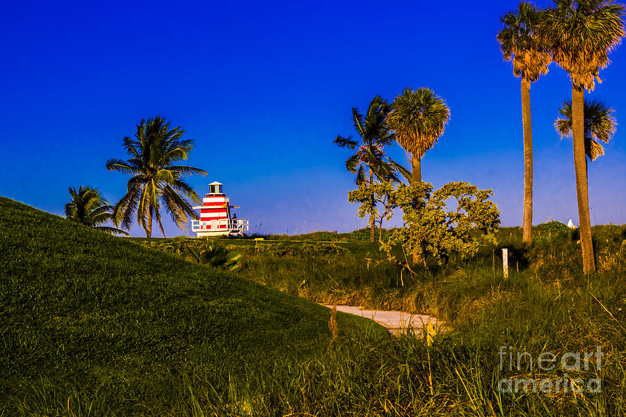 Lighthouse Photograph - Pathway To The Beach by Rene Triay Photography