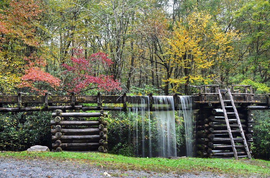 Mingus Mill Photograph - Pathway to the Mill by Mary Anne Baker