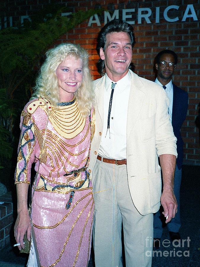 Patrick Swayze Lisa Niemi 1987 Photograph By Ed Weidman