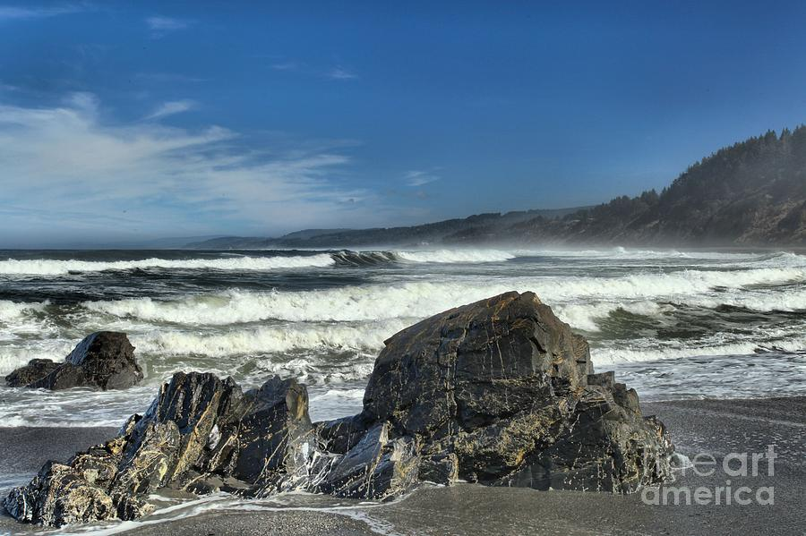 California Beaches Photograph - Patricks Rocks by Adam Jewell