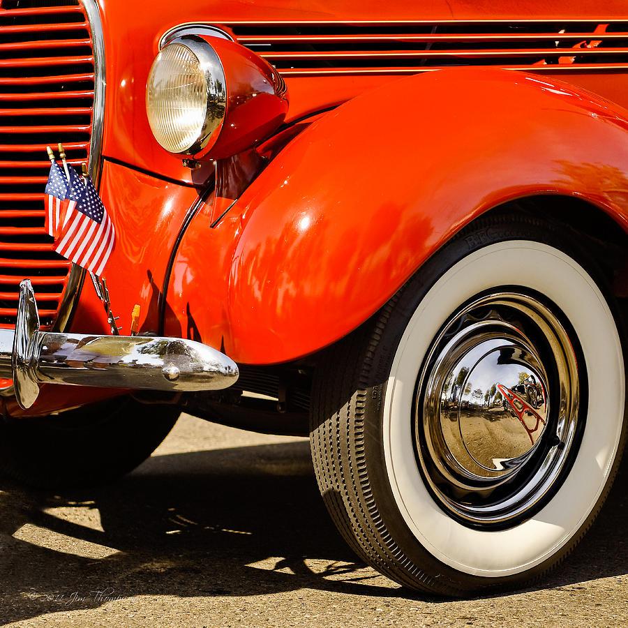 Patriotic Car Photograph