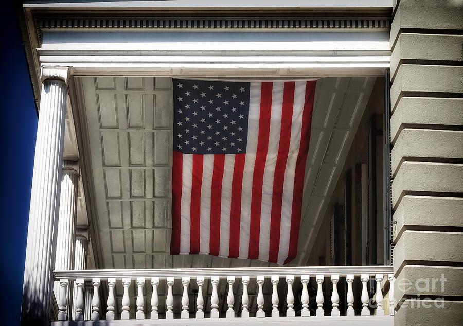 Patriotic Photograph - Patriotic Charleston by John Rizzuto
