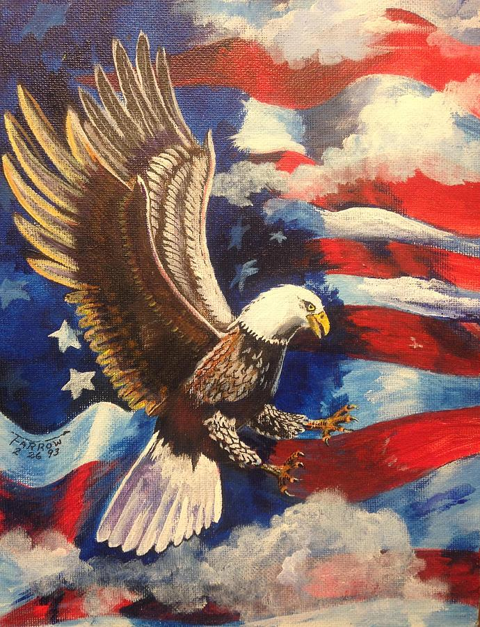 Patriotism Painting By Dave Farrow