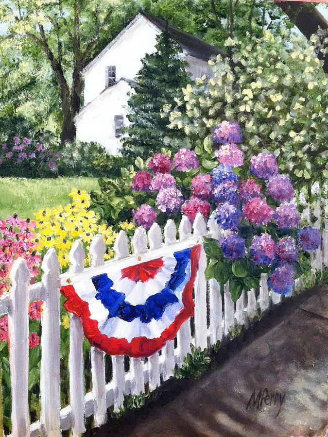 Patriotism on Court Street by Margie Perry