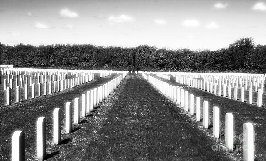 Cemetery Photograph - Patriots by John Rizzuto
