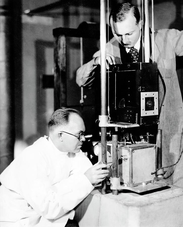 Laboratory Photograph - Patten And Kramer by American Philosophical Society