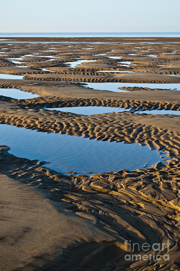 Britain Photograph - Pattern In The Sand by Lana Enderle