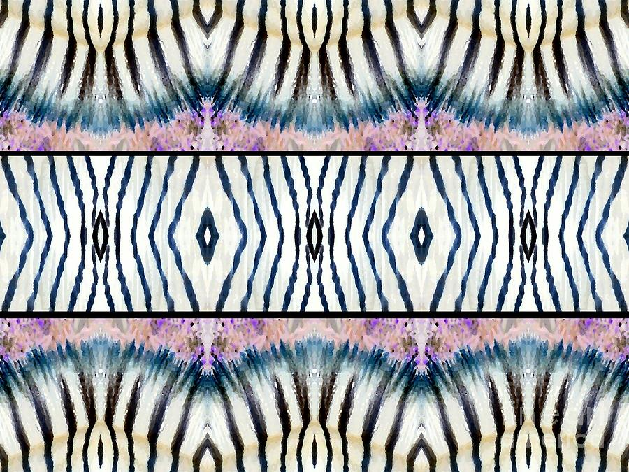 Zebra Photograph - Patterned After Nature IIi by Lady Ex