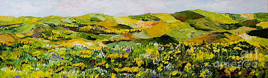 Landscape Painting - Patterns by Allan P Friedlander