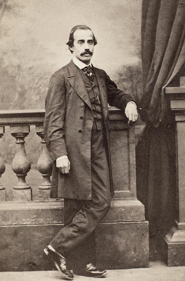 19th Century Photograph - Paul Duchaillu (1831-1903) by Granger
