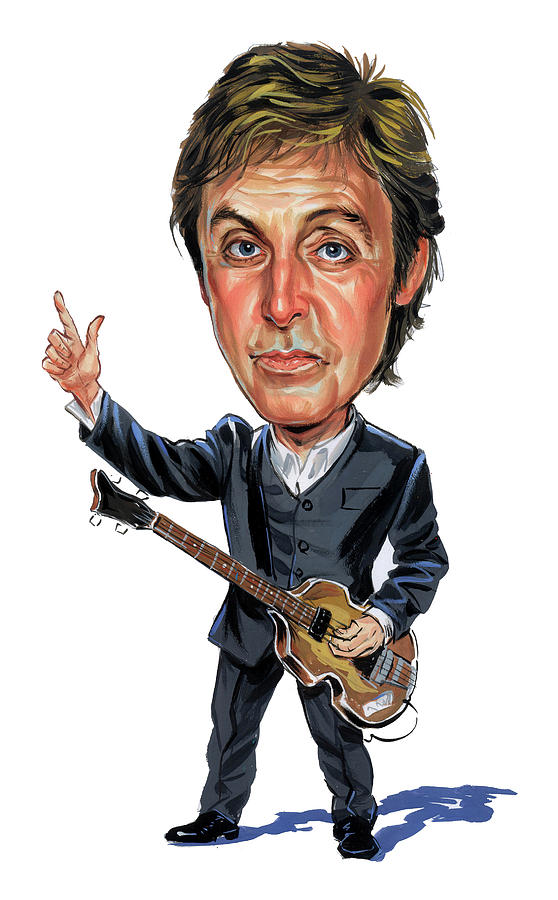Paul Mccartney Painting By Art