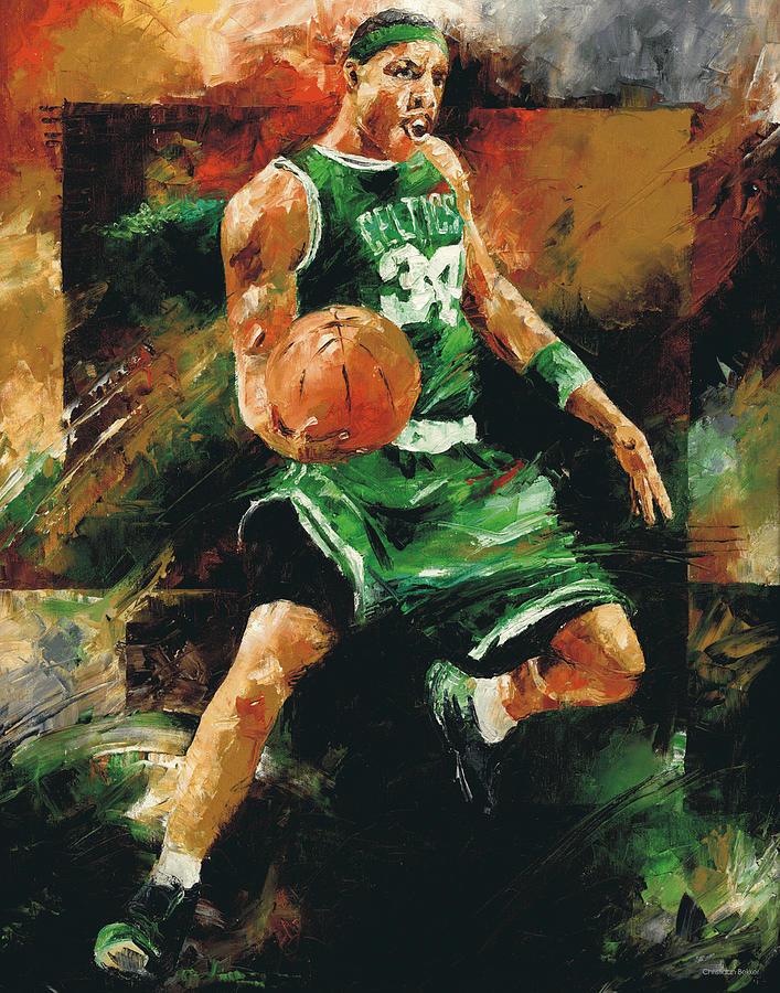 Paul Painting - Paul Pierce by Christiaan Bekker