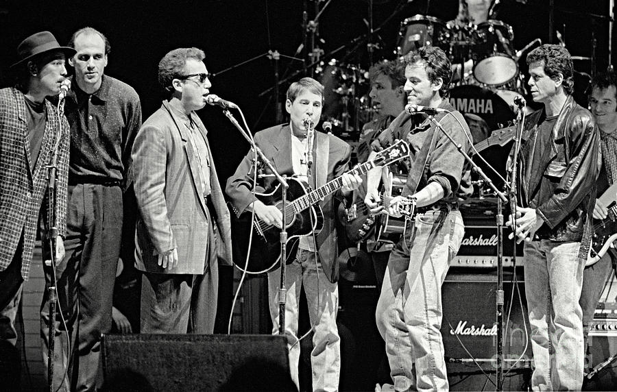 Paul Simon Photograph - Paul Simon And Friends by Chuck Spang