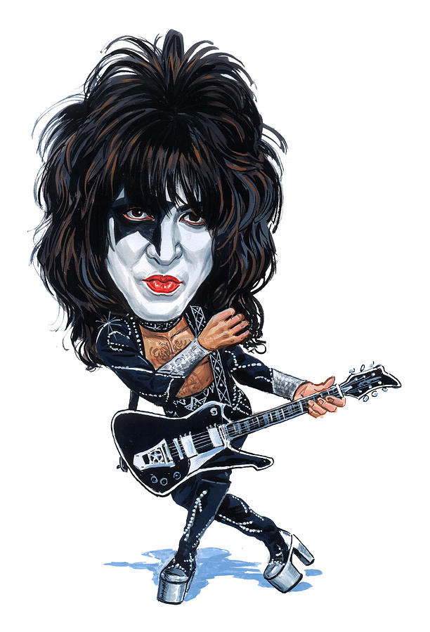 Paul Stanley Painting - Paul Stanley by Art