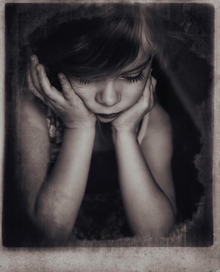 Girl Photograph - Paula by Slavka Miklosova