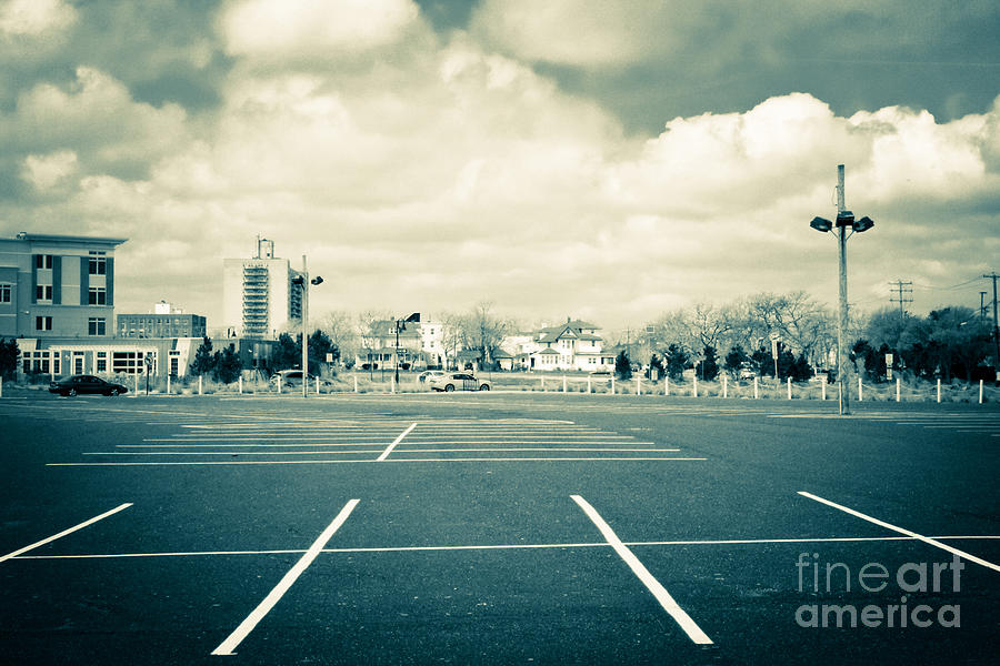 Parking Lot Photograph - Paved Paradise by Colleen Kammerer
