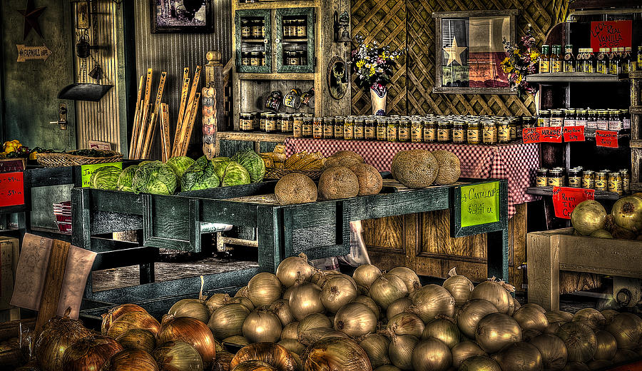 Vegetables Photograph - Pavlock Farms by David Morefield