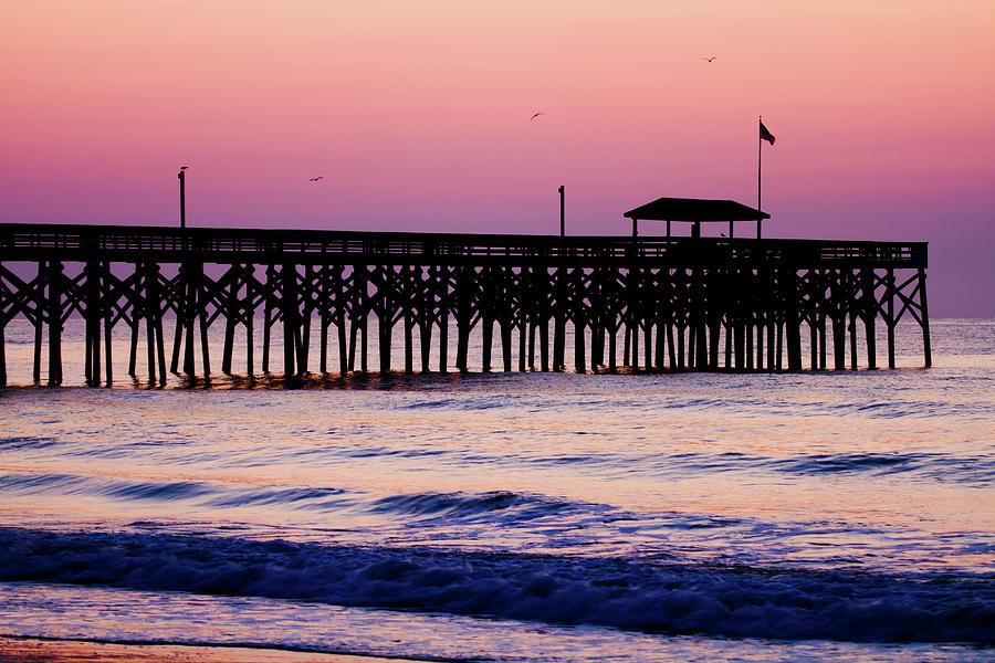 Pawleys Island Pier, South Carolina, Usa Photograph by Hiramtom